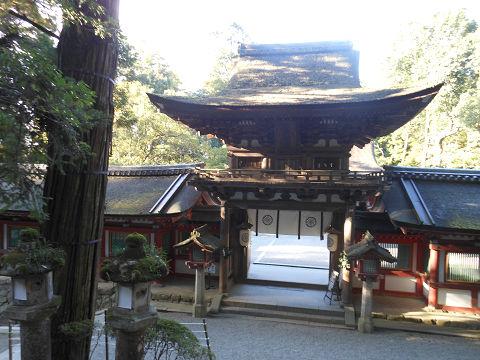 石上神宮の楼門(重要文化財)を望む - ぶっちゃけ古事記
