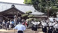 生品神社 - 「太平記の里」新田義貞の旗揚げ地、毎年5月に小学生が鎌倉に矢を放つ鏑矢祭