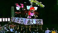 重要無形民俗文化財「弥彦神社燈篭おしと舞楽」 - 境内にあふれる灯籠神事のキャプチャー