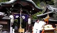 日吉神社 滋賀県栗東市上砥山のキャプチャー