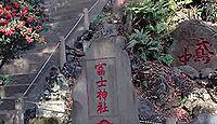 駒込富士神社 東京都文京区本駒込のキャプチャー