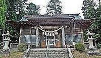子眉嶺神社 - 姫君と馬の獣姦など伝承が残る、馬の守護の神、津波被害なしの名神大社