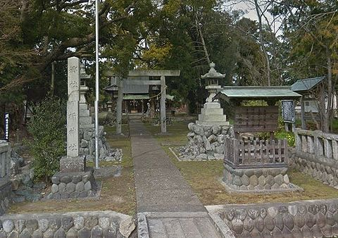 許禰神社 静岡県袋井市木原のキャプチャー