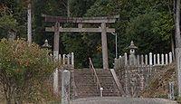 真木山神社 三重県伊賀市槙山