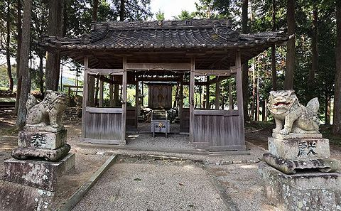 八柱神社 三重県多気郡多気町四疋田のキャプチャー