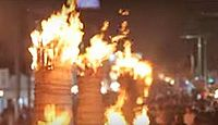 重要無形民俗文化財「吉田の火祭」 - 富士信仰に因む、山梨の勇壮かつ大規模な祭りのキャプチャー