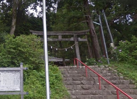 建穂神社 静岡県静岡市葵区建穂のキャプチャー