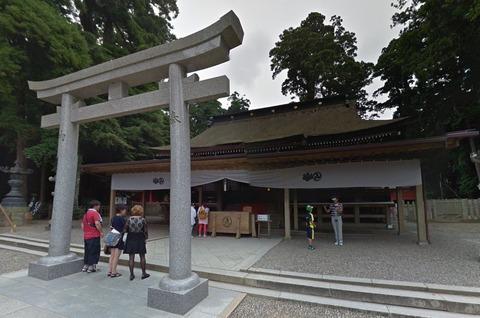 鹿島神宮で横綱・白鵬による奉納土俵入りが2015年6月6日午前11時半から行われる - 鹿嶋市のキャプチャー