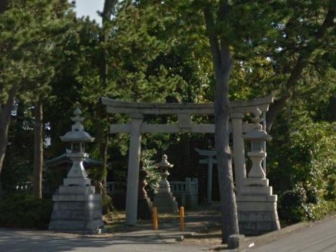 楢本神社 石川県白山市宮丸町のキャプチャー