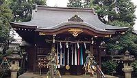 月見岡八幡神社 東京都新宿区上落合のキャプチャー