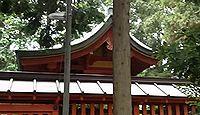 日枝神社(川越市小仙波町) - 赤坂日枝神社の本社、平安初期に坂本を勧請、底なしの穴