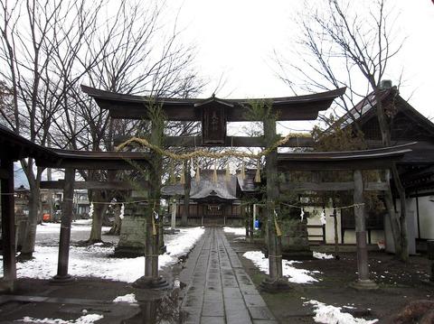 美和神社の三ツ鳥居 - Wikipedia
