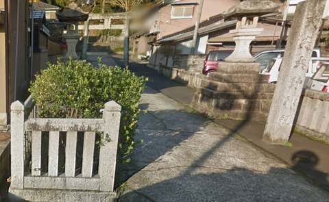 大野神社 京都府京丹後市大宮町のキャプチャー