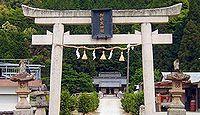 加都良神社 兵庫県多可郡多可町中区間子
