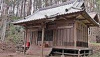 鹿島緒名太神社 - 鹿島大神苗裔神38社の一つ、往古は小山一円が神領地だった式内社