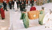 香椎宮の臨時奉幣祭 - 10年に1度の勅使参向による勅祭、平成17年までに138回斎行される