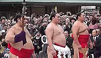 出雲大社で横綱白鵬が奉納土俵入りを披露 - 2013年10月23日、島根県出雲市のキャプチャー