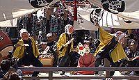 三熊野神社(掛川市) - 遠州横須賀、神輿・山車、囃子、地固め舞や田遊びの舞の大祭