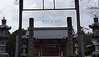 宇閇神社(岡田下) - もとは因幡国一宮の宇部神社を勧請、今は「岡田の天神さん」