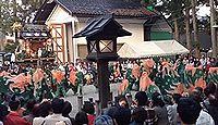 飛騨総社 - 平安期の創建、5月の例祭では曲芸のような親子獅子舞が奉納される、岐阜高山