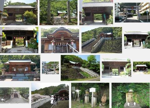 八幡神社 徳島県徳島市伊賀町のキャプチャー