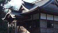 伊射奈美神社 徳島県美馬市穴吹町三島舞中島のキャプチャー
