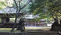 子持神社 群馬県渋川市中郷