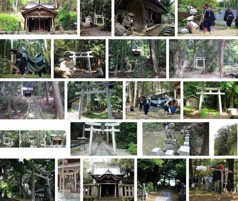 椎村神社 福井県小浜市若狭のキャプチャー