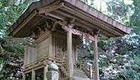 高天岸野神社 - 高天三山