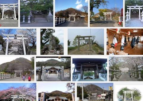 白山神社 香川県木田郡三木町下高岡のキャプチャー