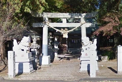 羽梨山神社 茨城県笠間市上郷のキャプチャー