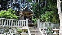 葛木水分神社 奈良県御所市関屋