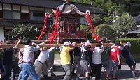 色来神社 兵庫県豊岡市竹野町林のキャプチャー