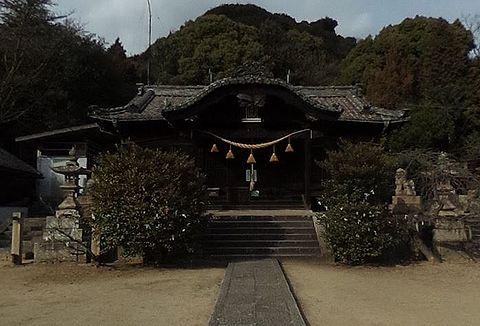 八幡神社 広島県福山市田尻町2423