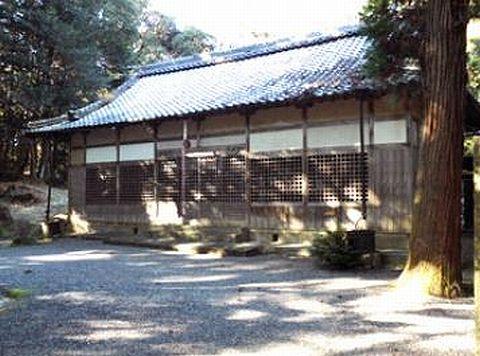 酒井神社 三重県鈴鹿市徳居町のキャプチャー