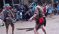 南方神社(薩摩川内市高江町) - 慶長期の棟札が現存、ユーモラスな寸劇「太郎太郎踊り」