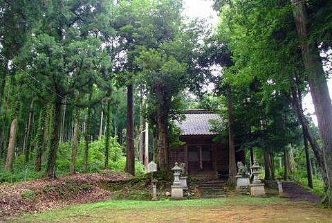 酒列神社 福井県越前市米口町のキャプチャー