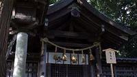 諏訪大社・上社前宮 - 諏訪の祭祀の発祥地にして、諏訪地方の政治の中心地