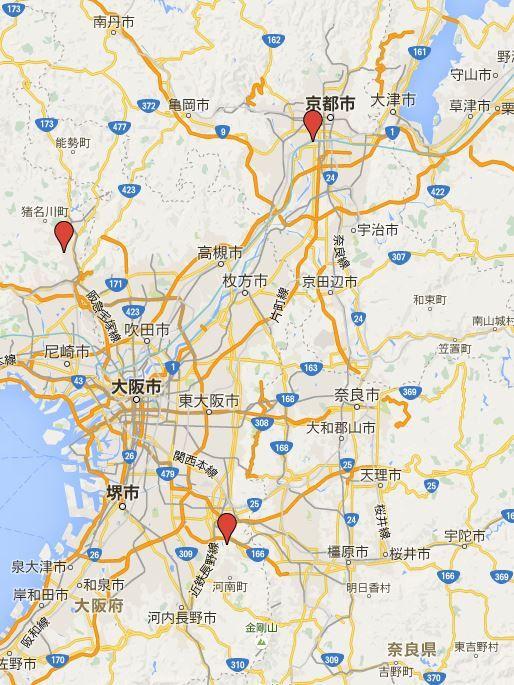 源氏三神社 - 源頼朝と鶴岡八幡宮までの、清和源氏の発祥からの関わり深い三つの神社
