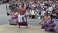 熱田神宮で横綱白鵬が奉納土俵入りを披露 - 2014年7月5日、愛知県名古屋市のキャプチャー