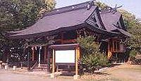 上津天満宮 - 旧正月初子の日に高良大社と「子の日の松」、境内に式内豊比咩神社の論社