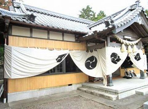 貴志神社 三重県鈴鹿市岸岡町のキャプチャー