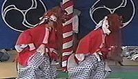 重要無形民俗文化財「遠江森町の舞楽」 - 悪魔払い、五穀豊穣の獅子舞、稚子舞のキャプチャー