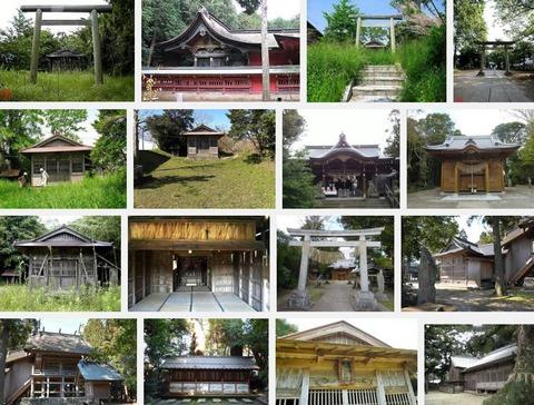 六所神社 千葉県館山市亀ヶ原のキャプチャー