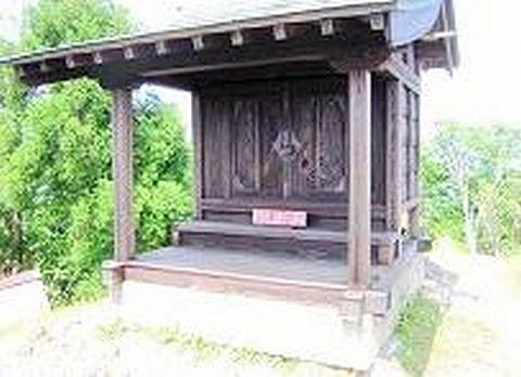 権現神社 京都府南丹市美山町の頭巾山山頂のキャプチャー