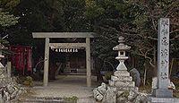 尾津神社 三重県桑名市多度町戸津
