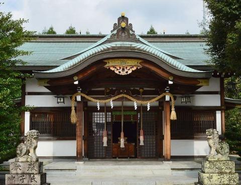 為那都比古神社 大阪府箕面市石丸のキャプチャー