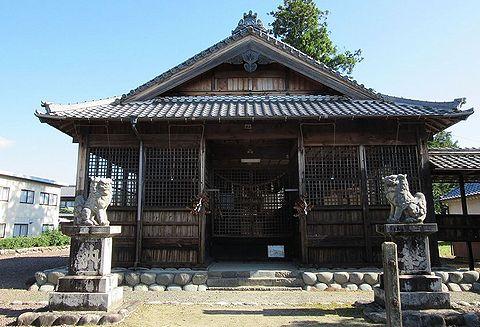 太部神社 岐阜県加茂郡川辺町比久見のキャプチャー