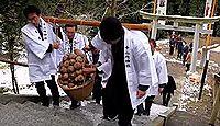 重要無形民俗文化財「茂名の里芋祭」 - 千葉・館山、類例の少ない里芋の予祝儀礼のキャプチャー