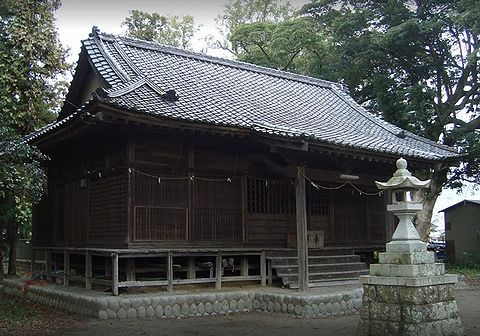 東八王子神社 静岡県磐田市前野町のキャプチャー